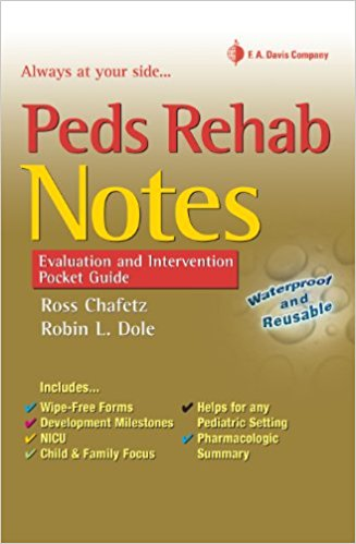 Peds Rehab Notes